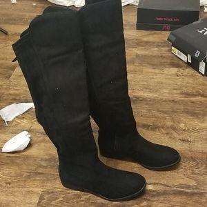 Style & Co Hayley Wide-Calf Over-The-Knee Zip Boot